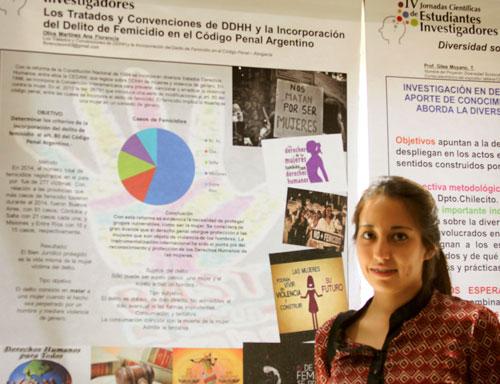 Historia de Investigación. Estudiantes investigadores – Florencia Oliva