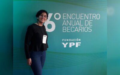 Estudiante de Ing. Mecatrónica fue seleccionada para las Becas de grado de Fundación YPF