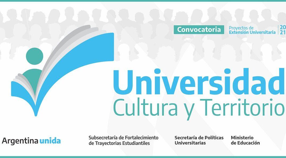 Convocatoria de Proyectos de EXTENSION UNIVERSITARIA  2021