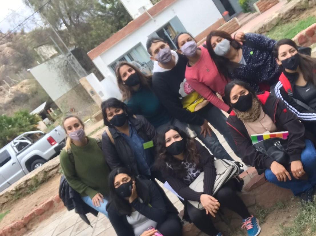 Estudiantes de turismo comenzaron con las prácticas presenciales