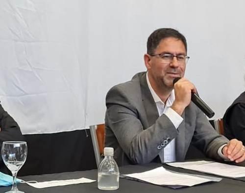 César  Salcedo fue designado  Vicerrector  Académico de la UNdeC