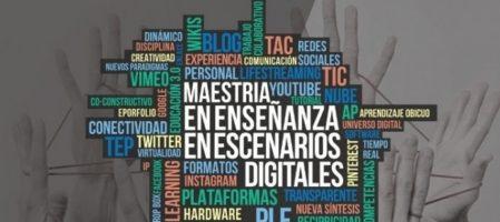 Posgrado: Inicia la preinscripción a la Maestría en Enseñanzas en Escenarios Digitales
